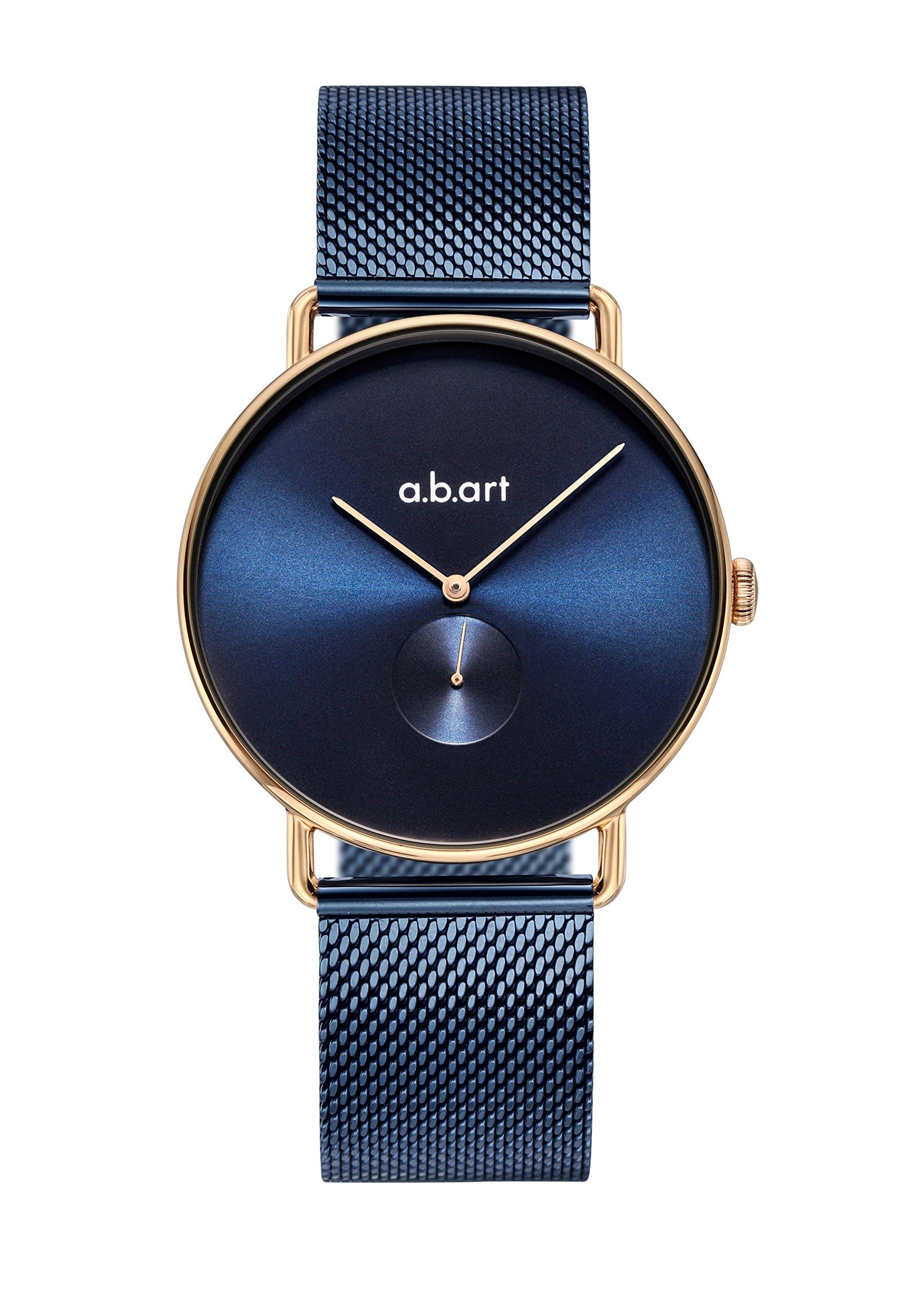 abart Blue Watch FA36-012-5S Quartz Movement Blue Dial Sapphire Crystal Women Wristwatch