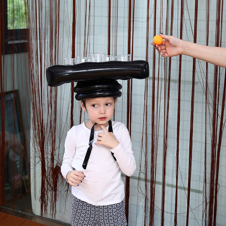Sombrero de Pong de cerveza inflable de 6 agujeros, Sombrero de ...