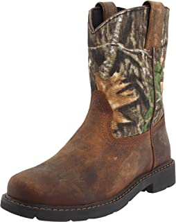 Amazon.com | Ariat Rambler Western Boot (Toddler/Little Kid/Big ...