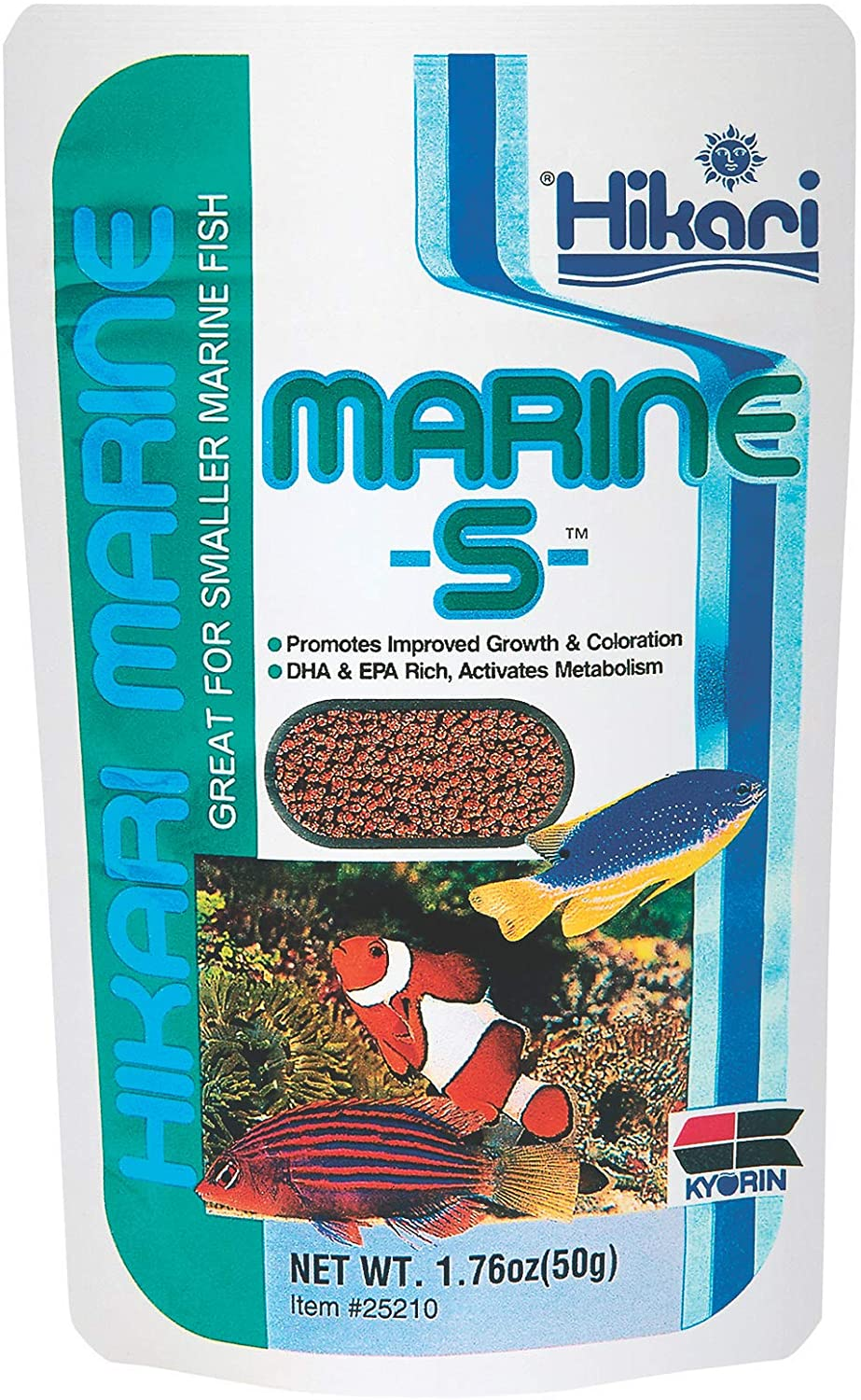 Hikari Marine-S Pellets Fish Food for Smaller Marine Fish