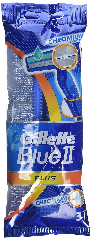 Gillette Blue II Plus Disposable Sensitive Razors - Pack of 24 Procter & Gamble Co GIL1149C