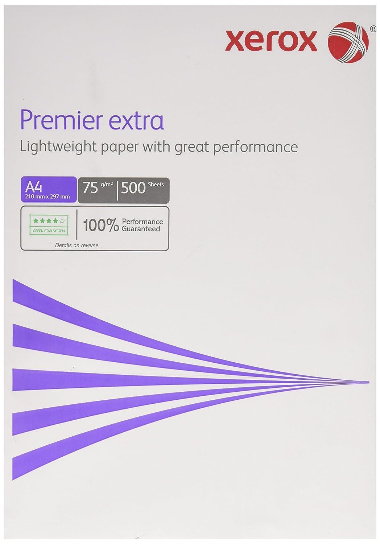Xerox 003r94787–Premier Carta extra per stampante, 75g/m², 500fogli, DIN A4, 70% PEFC Certified