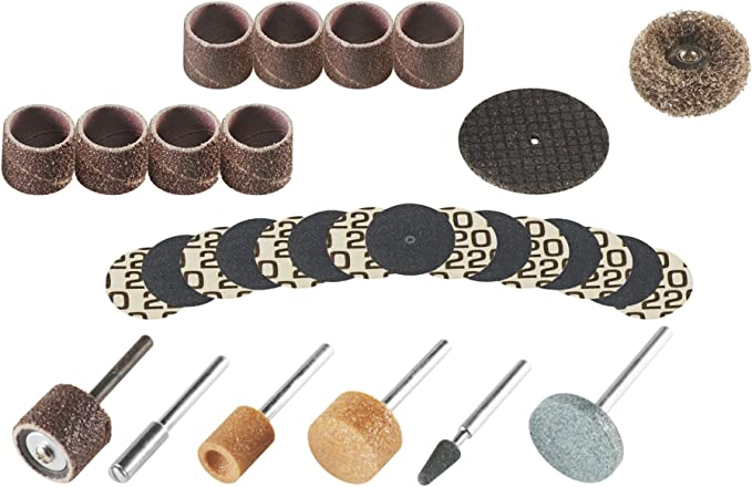Grinding sanding bits for dremel rotary tool for BJD or doll making and sculpting tools 10 pc set