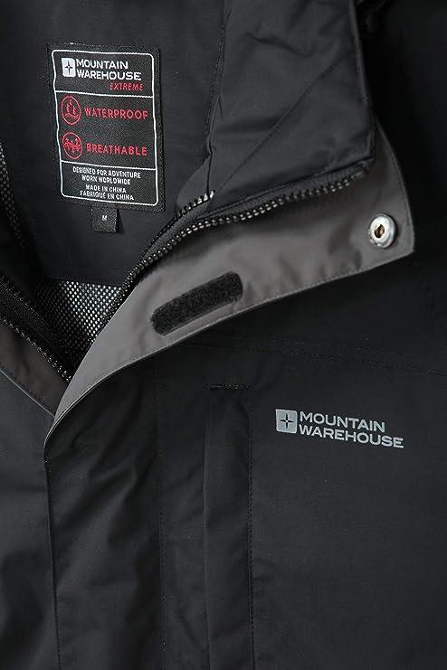 Mountain Warehouse Unisexe DEL 3 IMPACT//Résistant À L/'eau Torche Argent-Taille Unique