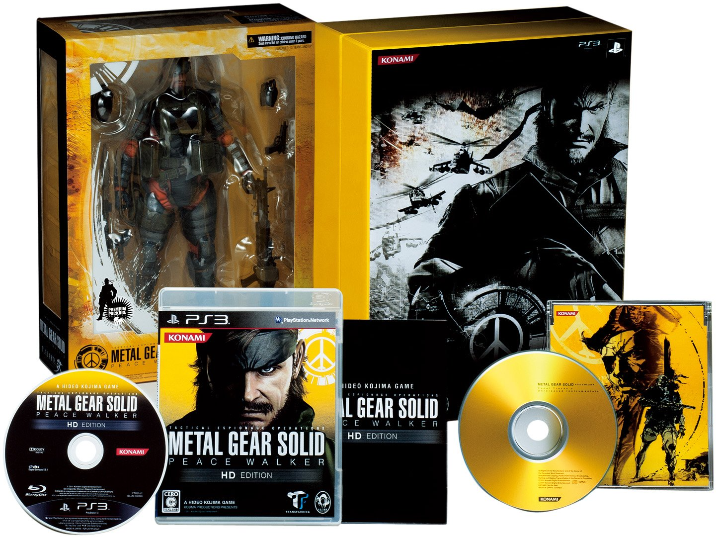 Metal Gear Solid: Peace Walker HD Edition [Limited Edition] [Japan Import]