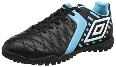 Umbro Medusæ II Pro HG, Chaussures de Football Homme, Noir (Black/White/Bluefish), 45 EU