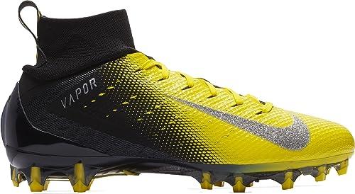 sports shoes 14d2b 4ed68 Nike Vapor Untouchable Pro 3 - Zapatillas de fútbol para Hombre, Negro  Amarillo,
