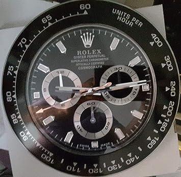 HAOYUN Rolex daytona Horloge pendule murale lumineuse: Amazon.fr ...