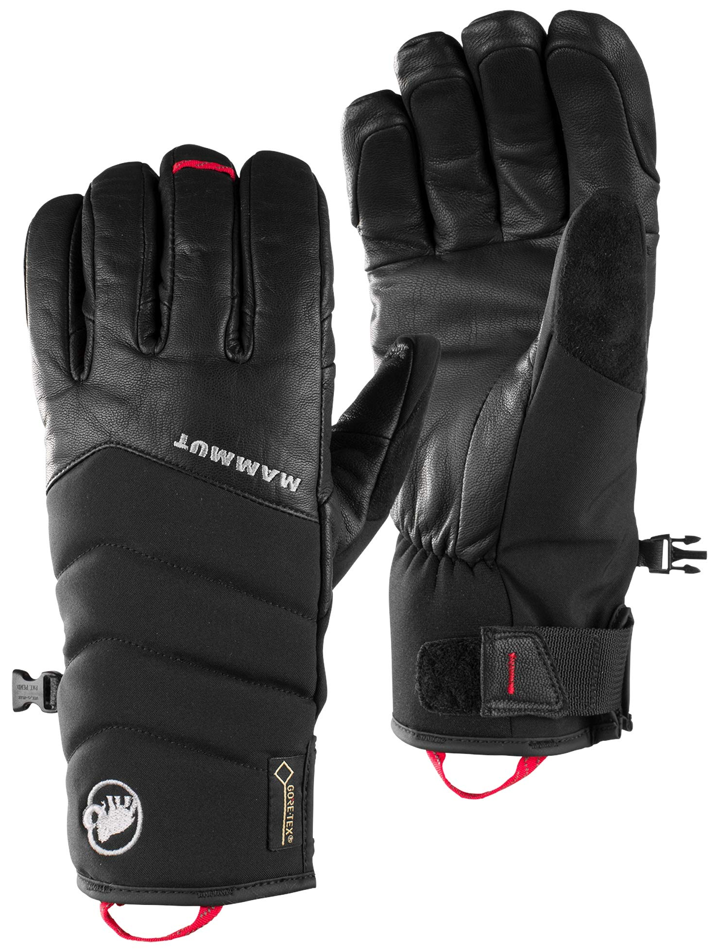 Mammut 1090-05890 Glove Alvier Glove, Black - 6