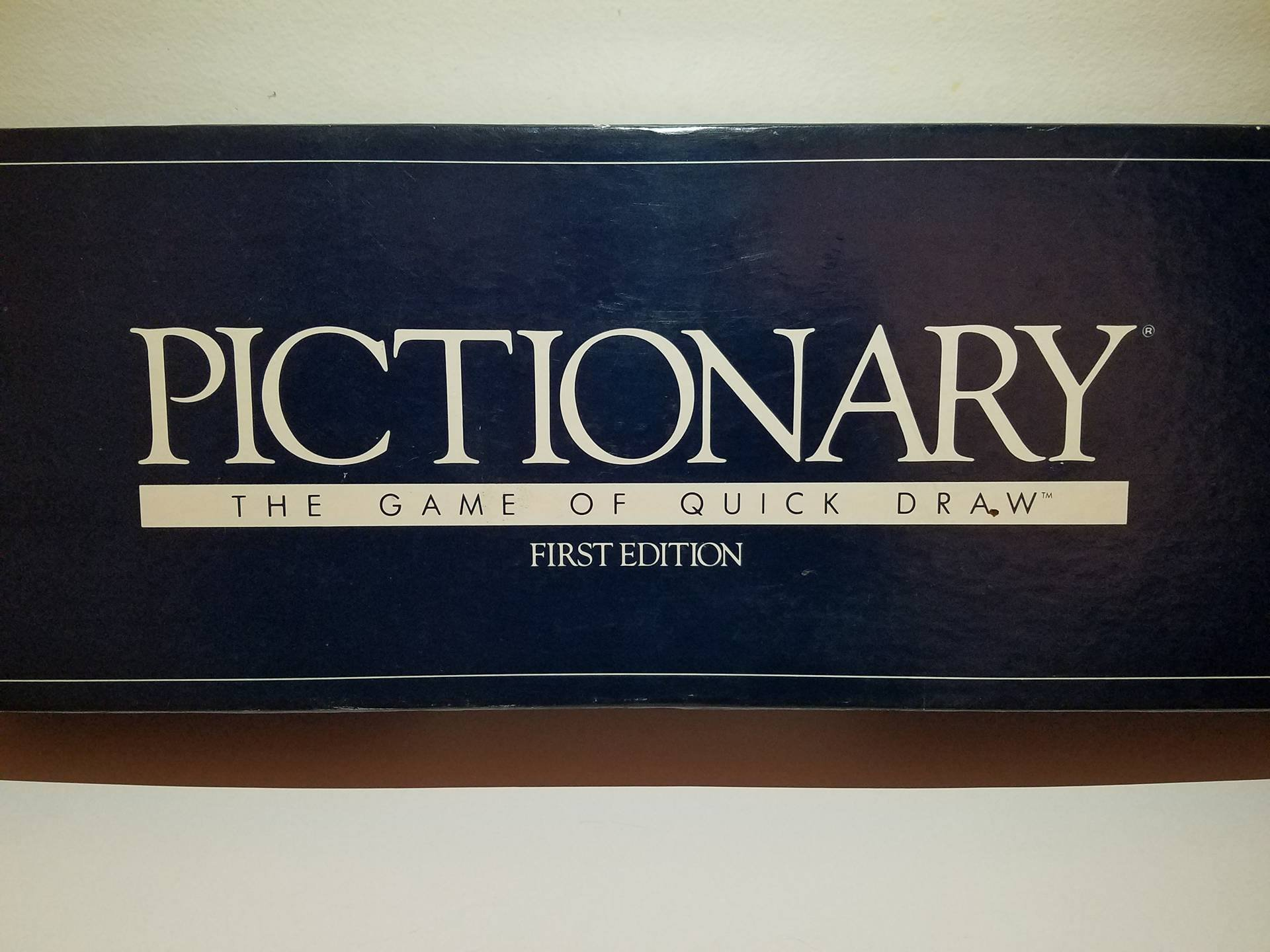 Pictionary - First Edition
