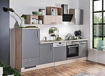 idealShopping GmbH - Bloque de Cocina (con vitrocerámica y ...