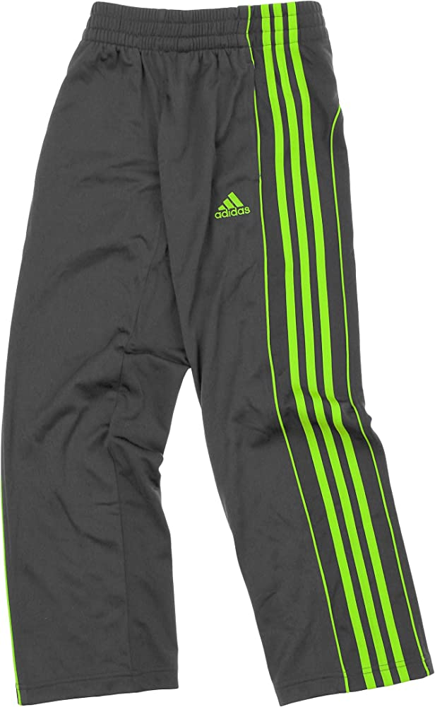 Caña mucho granja  Amazon.com: adidas Youth Boys Layup 3-Stripe Track Pant (X-Large (18), Grey/ Green): Clothing
