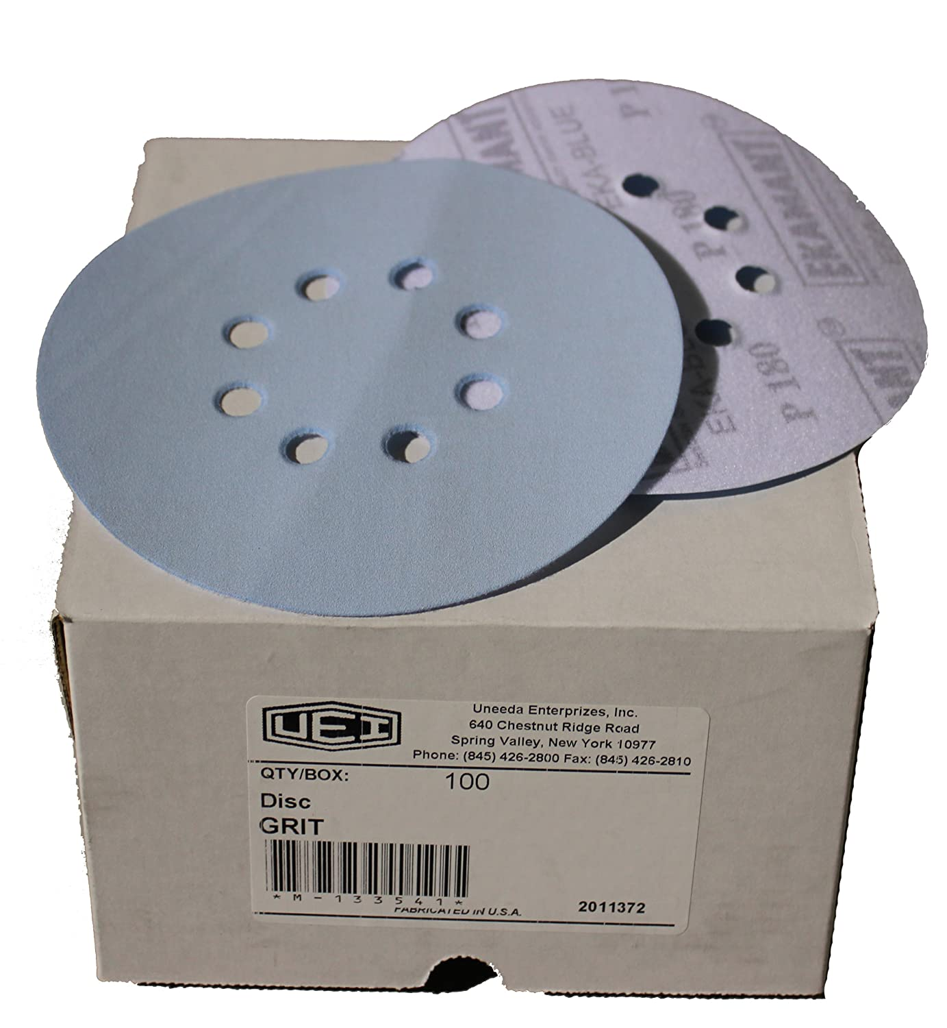 Scotch-Brite Surface Conditioning Disc Hook and Loop Attachment Pack of 100 4 Diameter 3MIA9 SC-DH TM Aluminum Oxide NH A Very Fine