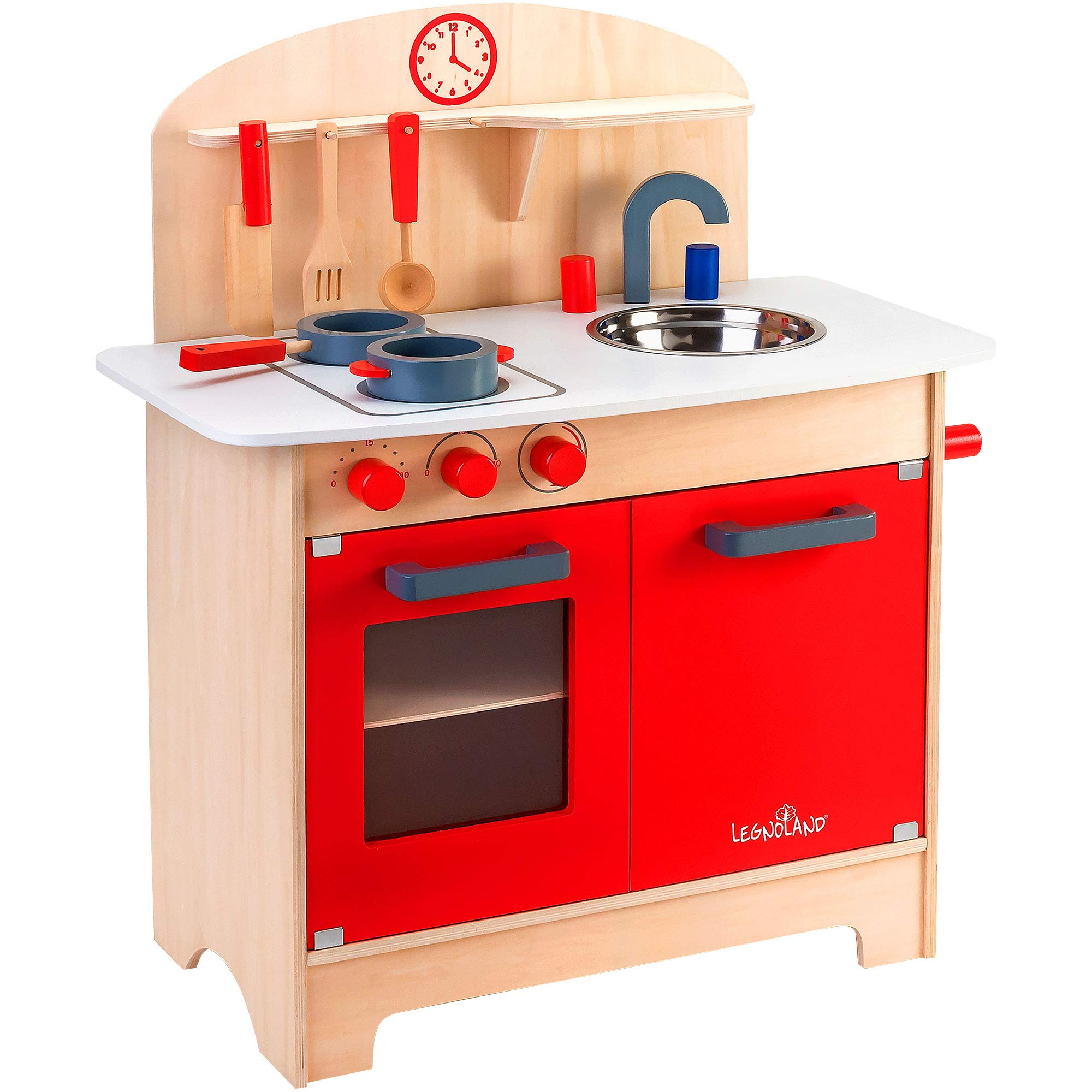 Legnoland 37783 Wooden Kitchen with Accessories