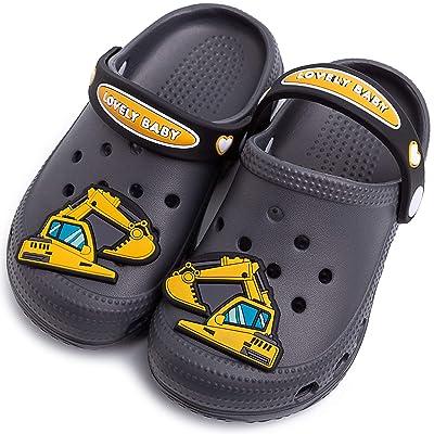 Toddler Little Kids Unicorn Sandals Non-Slip Slide Summer Slippers Lightweight Beach Pool Water Clogs for Girls and Boys