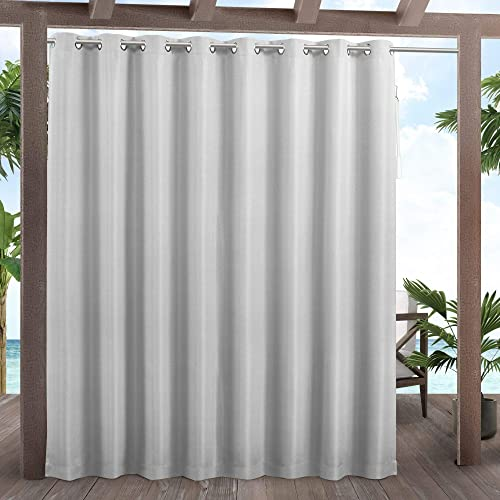 Exclusive Home Curtains Cabana Patio Light Filtering Grommet Top Curtain Panels