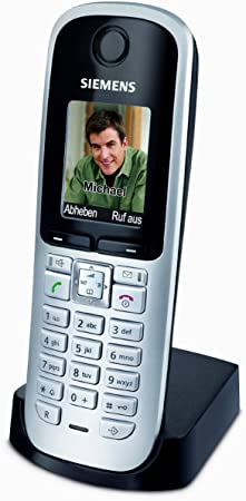 Gigaset S68H - Teléfono inalámbrico DECT con base de carga (pantalla a color, función de altavoz, Bluetooth), color gris [Importado de Alemania]: Amazon.es: Electrónica