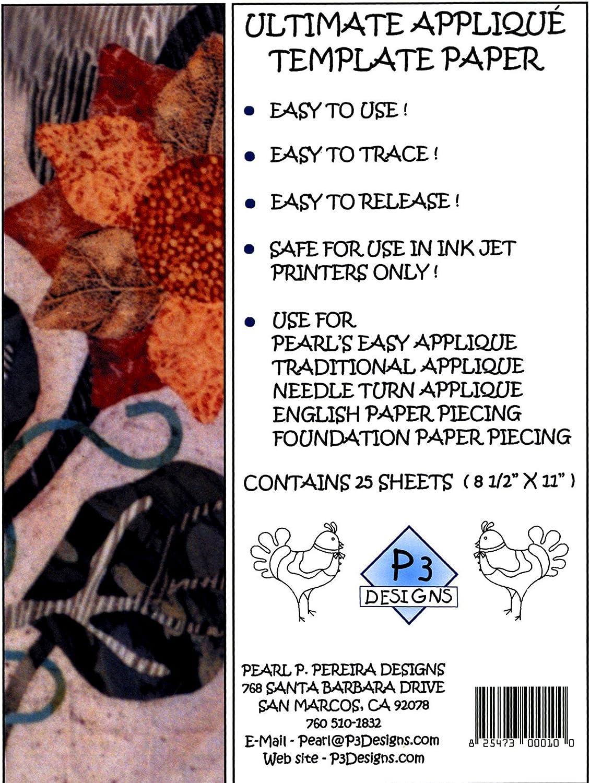 P3 Designs - Plantilla de Papel para congelador, 6 1/2 x 13 1/2 ...