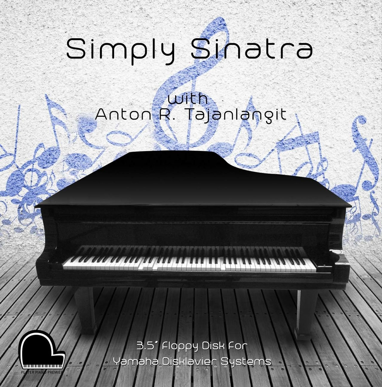 Simply Sinatra - Yamaha Disklavier Compatible Player Piano Music on 3.5'' DD 720k Floppy Disk