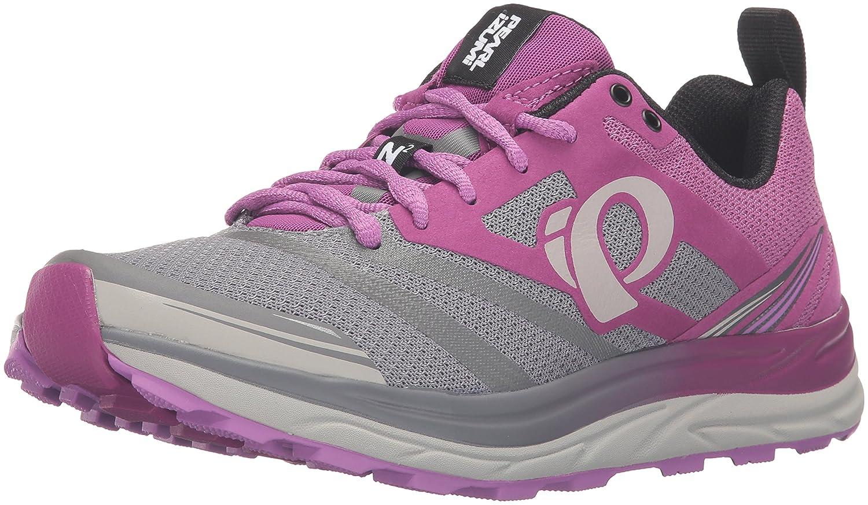 Pearl iZUMi Women's EM Trail N2 v3 Running Shoe B017US43L6 10 B(M) US|Purple Wine/Smoked Pearl