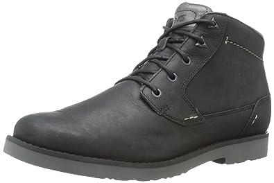 Teva Men's Durban Leather Chukka Boot, Black, ...