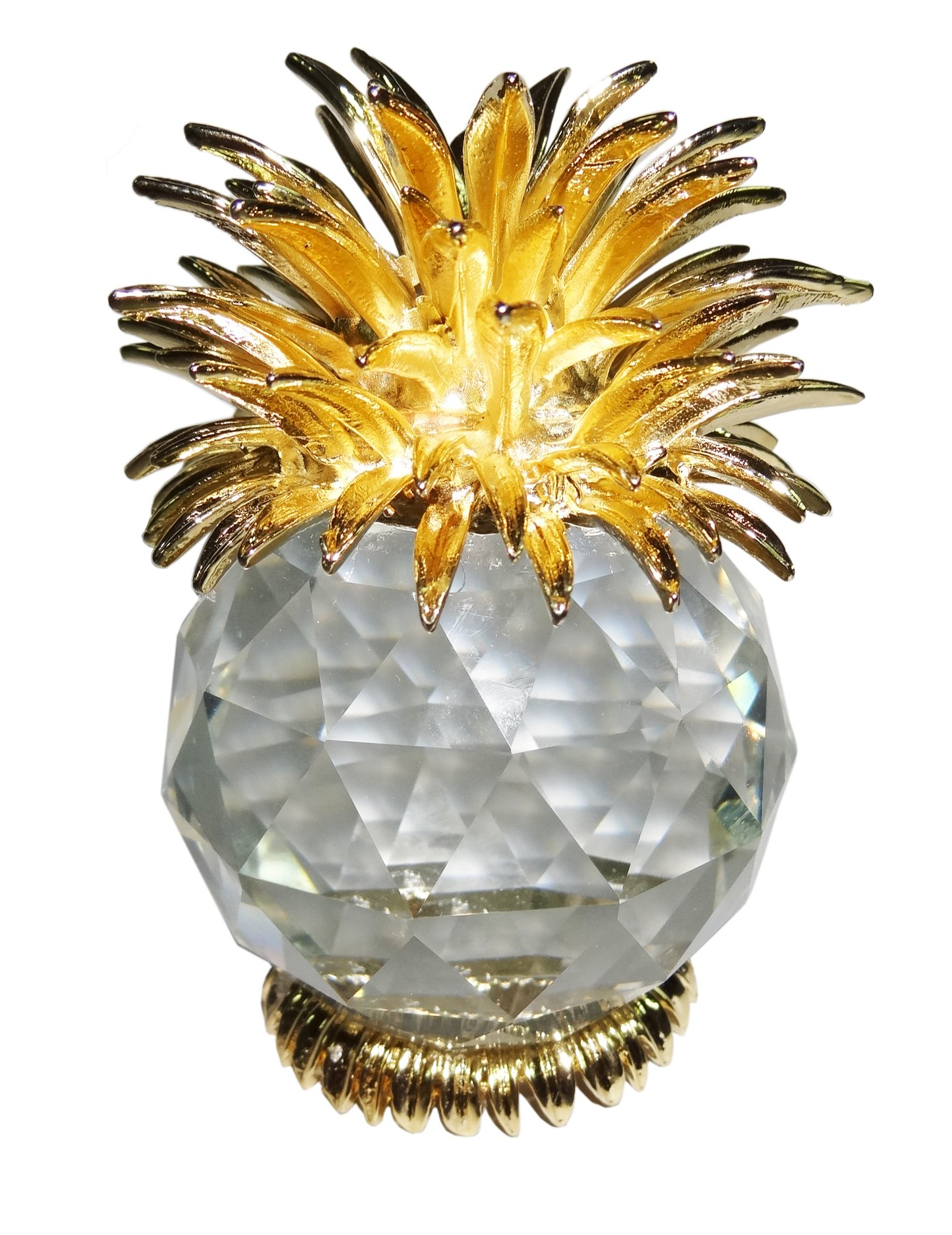 Crystal Pineapple Figurine PaperWeight