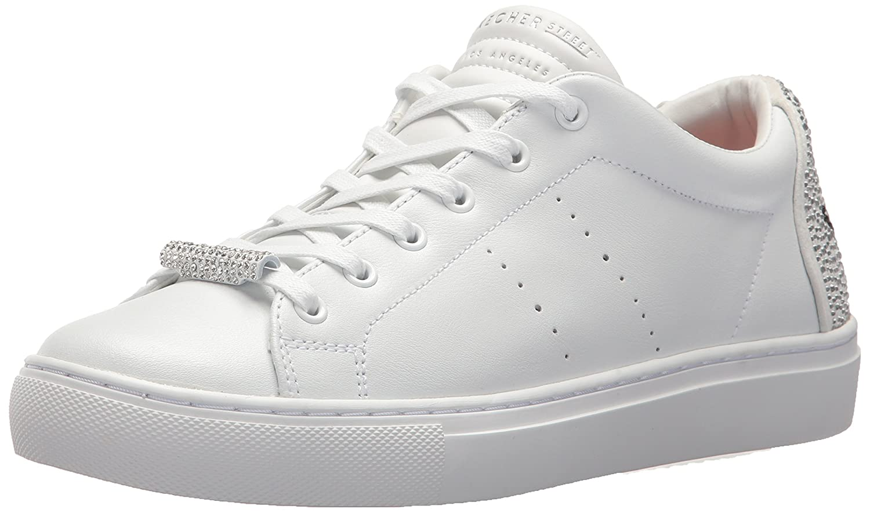 Skechers Calzado Deportivo Para Mujer, Color Negro, Marca, Modelo Calzado Deportivo Para Mujer 73537S Negro 40 EU Blanco