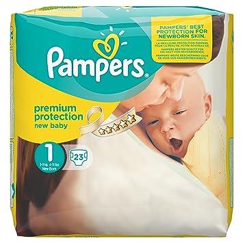 bbd1da387e Pampers Windeln New Baby, Gr. 1 Newborn 2-5 kg Tragepack, 4er Pack ...