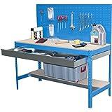 Simonrack BT-2 Box 1200 Kit d'Etabli Bleu/Bois