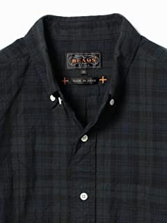 Indigo Buttondown Shirt 11-11-4821-139: Black Watch