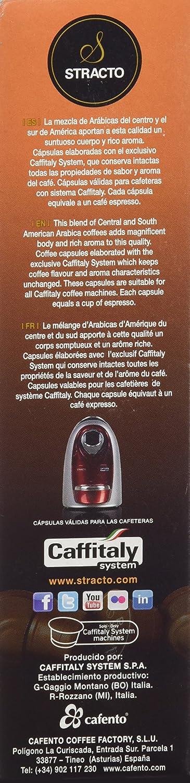 Stracto Intenso Cápsulas De Café - 100 gr: Amazon.es: Alimentación ...
