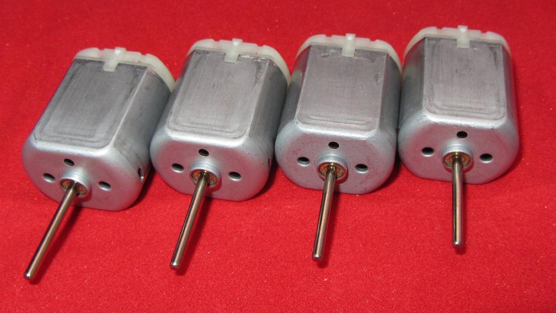 Spindle 4 Pack 20mm Round Shaft Central Door Lock Actuator Motor FC-280PC-22125 Power Locking Repair Engine