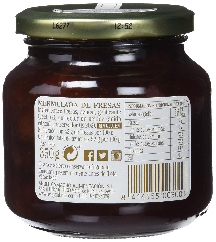 La vieja fábrica - Mermelada de fresas - 350 g