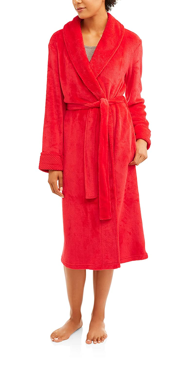 Secret Treasures Women s Super Minky Plush Sleep Robe at Amazon Women s  Clothing store  95b28f7b6