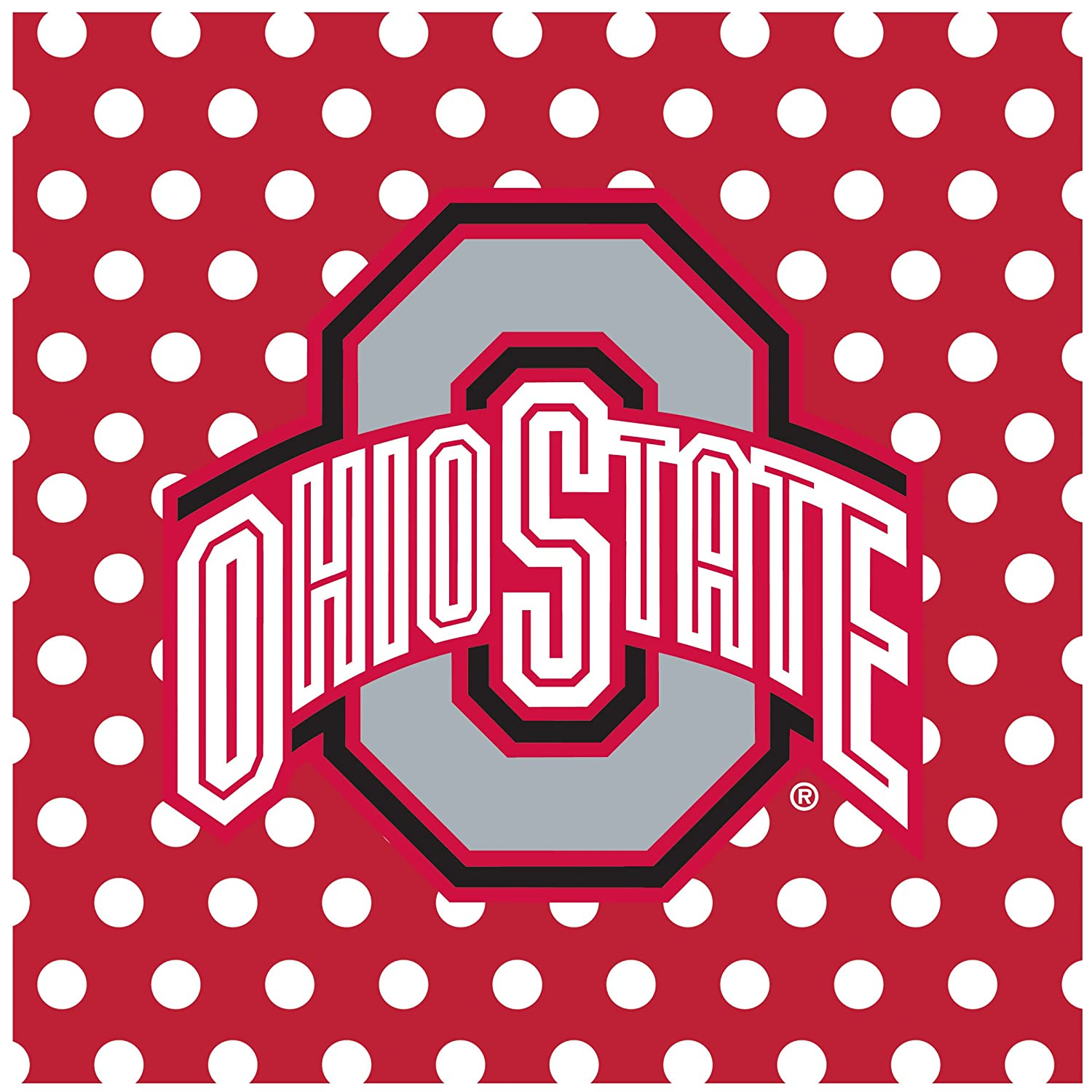 Thirstystone Ohio State University Car Cup Holder Coaster, 2-Pack DOHST