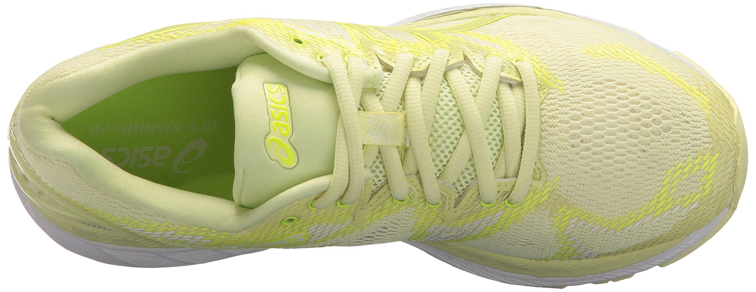 ASICS Women's Gel-Nimbus 20 Running Shoe, limelight/limelight/safety yellow, 5.5 Medium US by ASICS (Image #7)