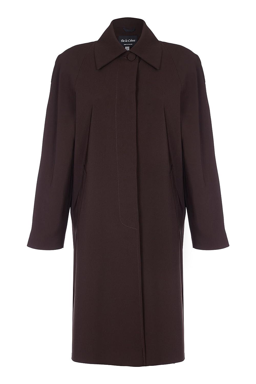 De La Creme - Women`s Spring Long Fly Front Raincoat R8026