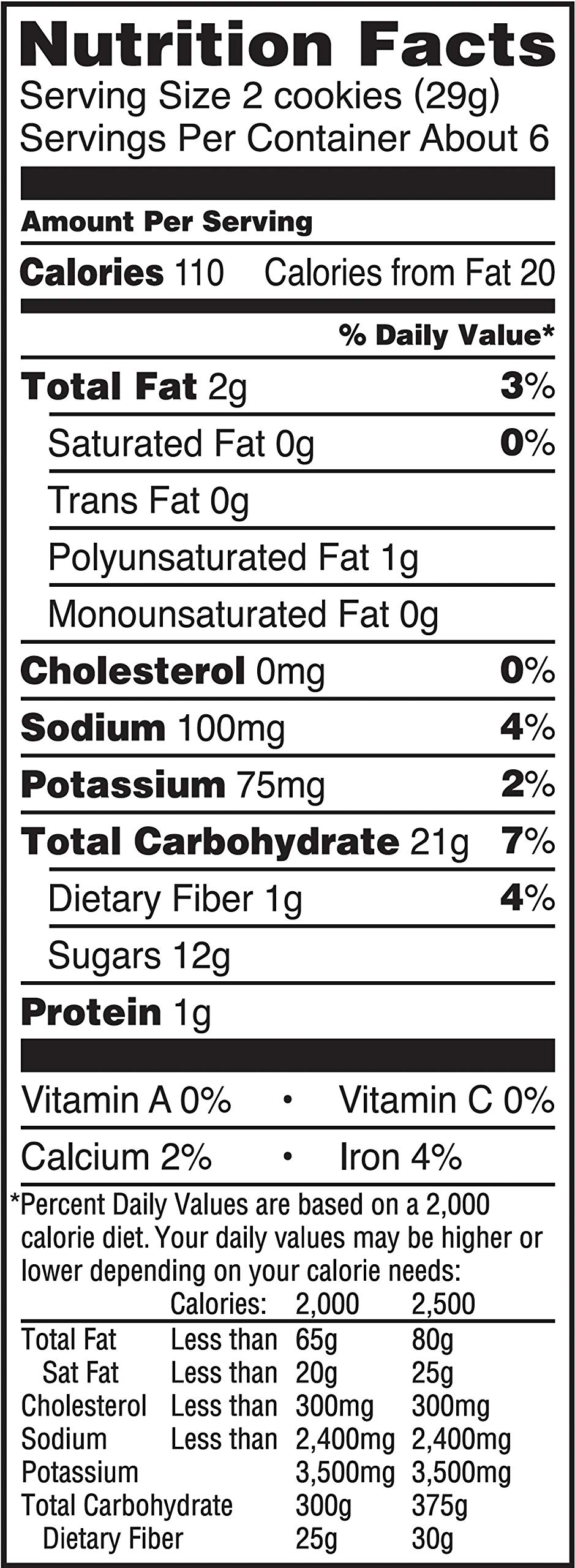 Newtons Fig Original Fruit Chewy Cookies, 6.5 Ounce by Newtons (Image #5)