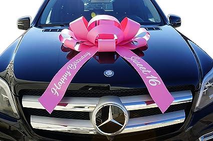 Amazon CarBowz Big Car Bow Sweet 16 Happy Birthday Giant 30