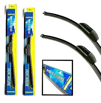 Melchioni MCS-Kit 2 escobillas de limpiaparabrisas 650 mm + 380 mm para Fiat Grande punto-360009117: Amazon.es: Coche y moto