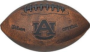 NCAA Auburn Tigers Vintage Throwback Football, 9-Inches