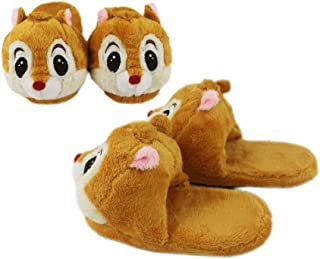 Disney's Dale Light Brown Comfy Plush House Slippers