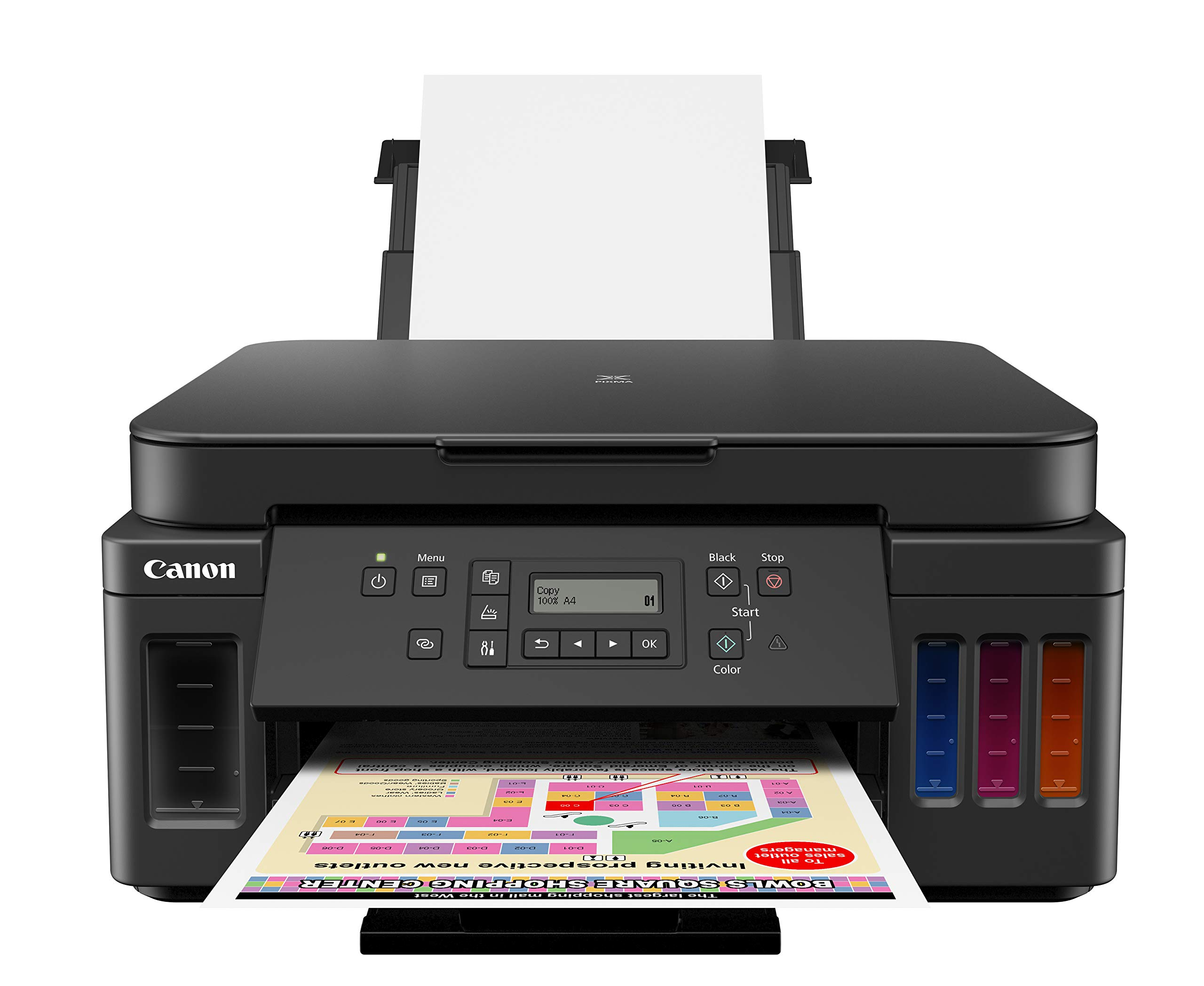 Canon PIXMA G6020 Wireless High Volume Business Printer All-in-One Supertank Printer by Canon (Image #1)