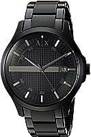 Armani Exchange Men's Black  Watch