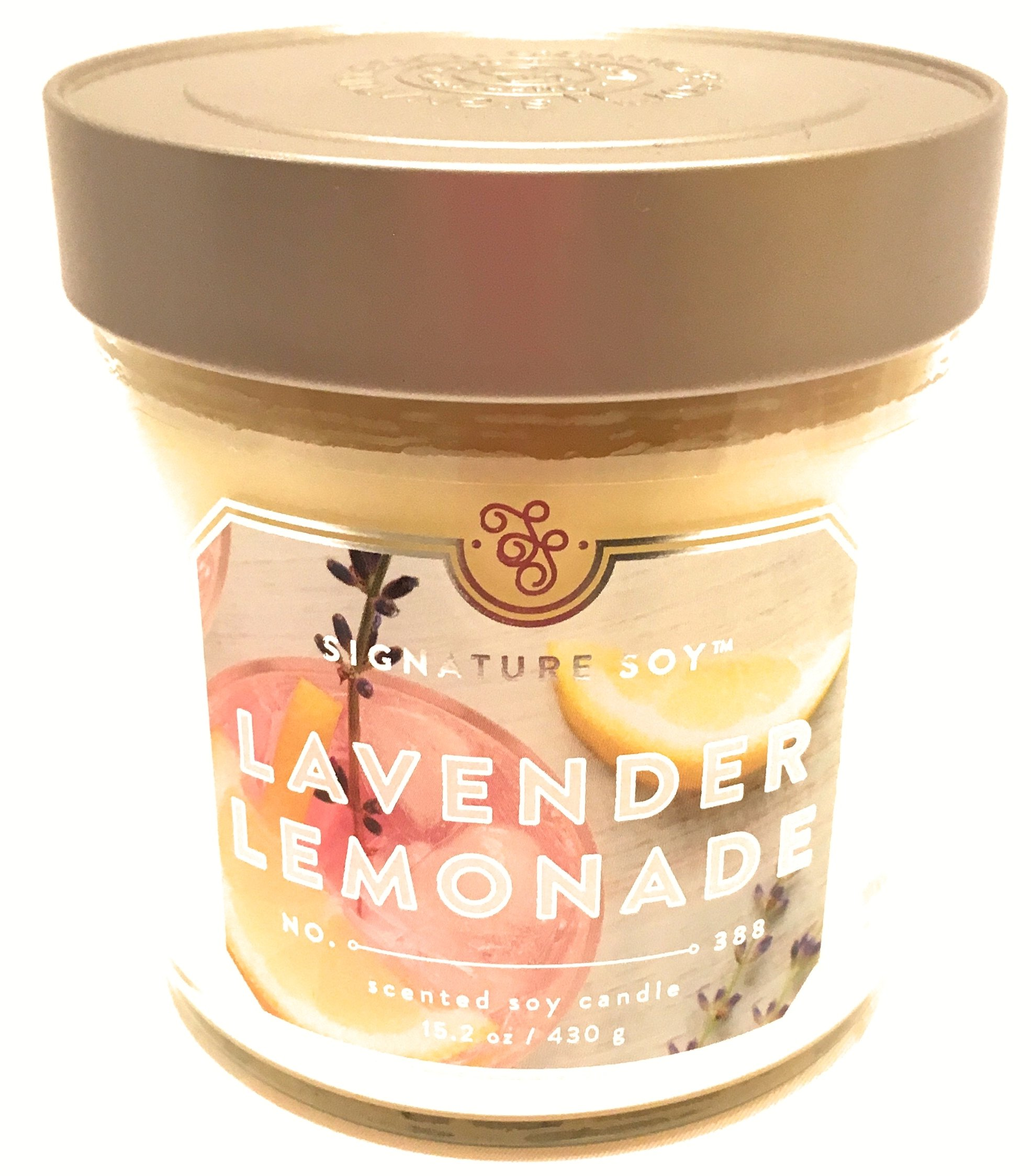 Nature Soy Lavender Lemonade Scented Soy Candle