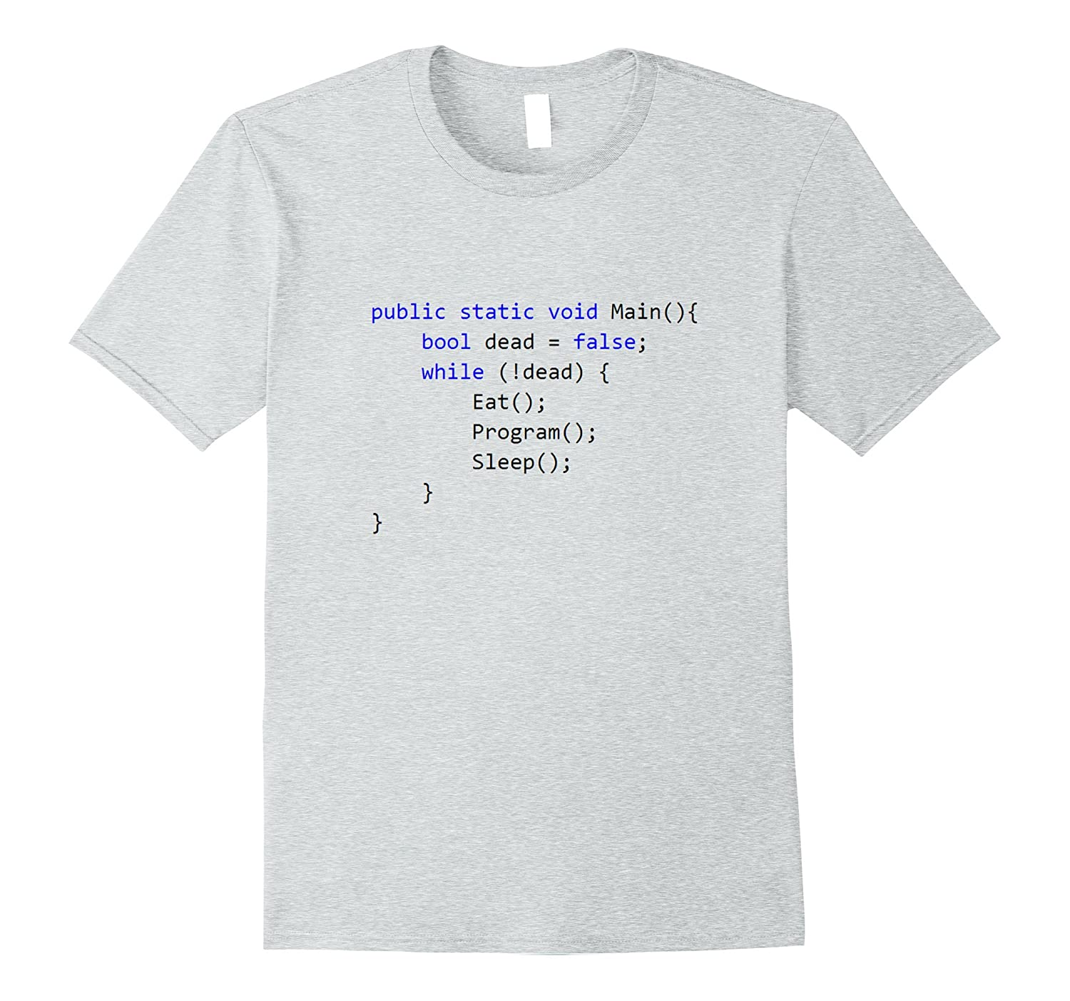 19a5d6d8 C Programming The Life As a Programmer T-Shirt-TJ – theteejob