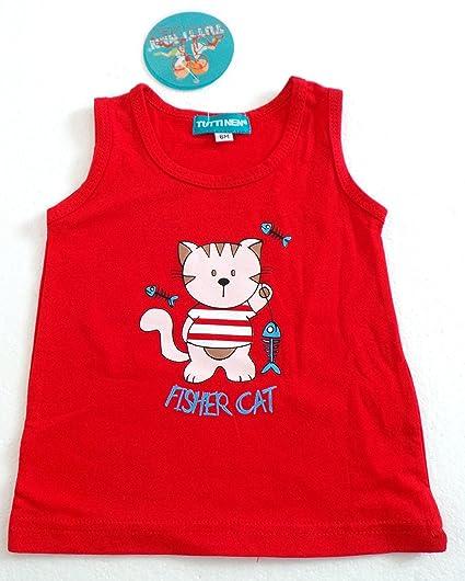 Prendas de vestir para niños tirantes Marcel-Camiseta de manga corta para bebé, diseño