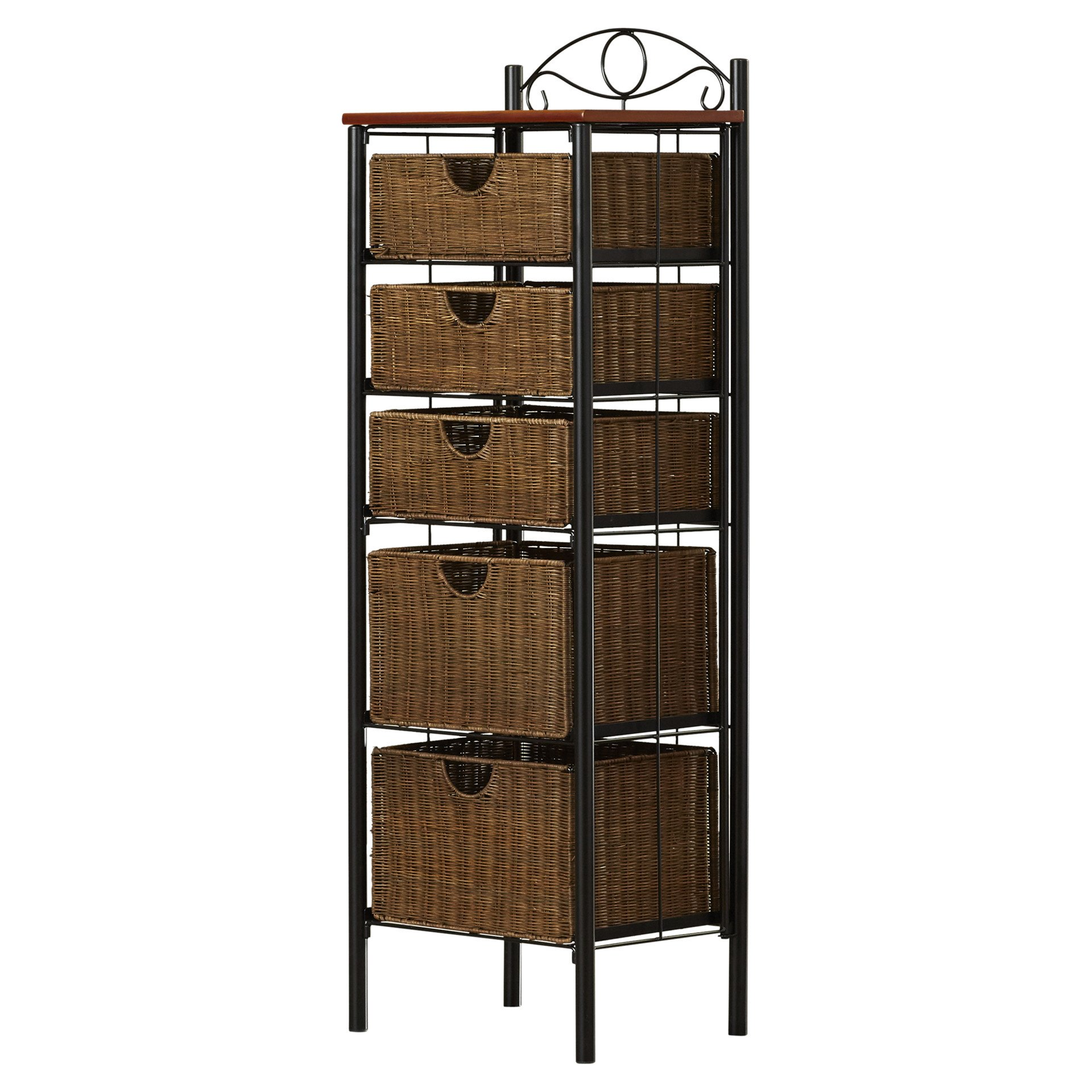 Darby Home Co - Caroleann Cabinet, Linen tower