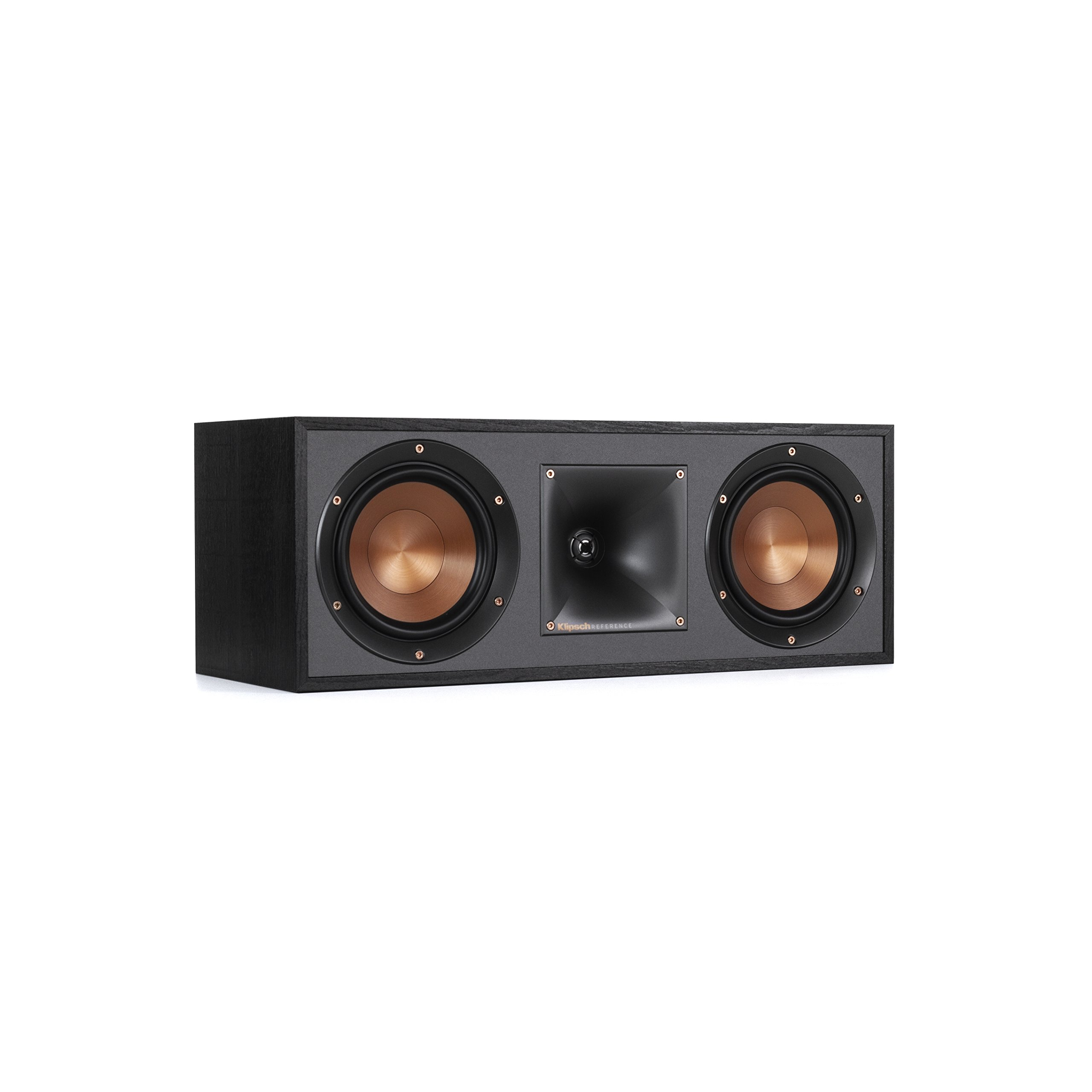 Klipsch R-52C Powerful detailed Center Channel Home Speaker - Black by Klipsch