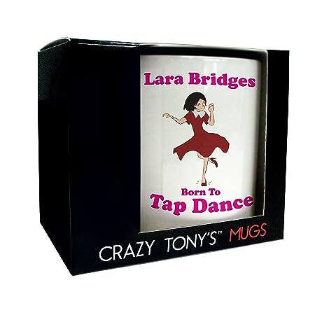 Girls Dancing Gift Personalised Tap Dancer Gifts Tap Dancing Mug